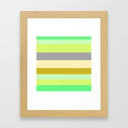 Just Stripes  Framed Art Print