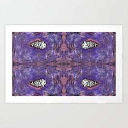 purr3.4 Art Print
