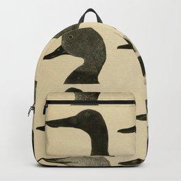 Vintage Duck Heads Backpack