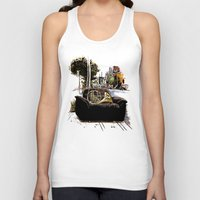 montreal Tank Tops featuring Chairs of Montreal by Salgood Sam