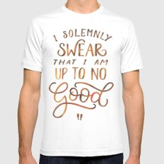 I Solemnly Swear White MEDIUM Mens Fitted Tee