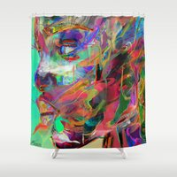 balance Shower Curtains featuring Balance by Archan Nair