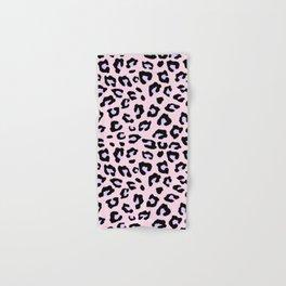 Leopard Print - Lavender Blush Hand & Bath Towel