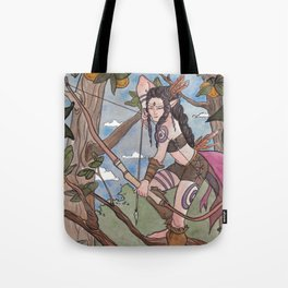 In The Treetops Tote Bag