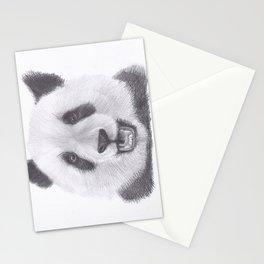 Panda Bear Drawing Stationery Cards