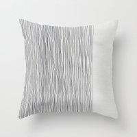 Throw Pillows featuring D24 by Georgiana Paraschiv