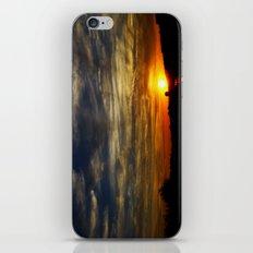 Colorful sunset iPhone & iPod Skin