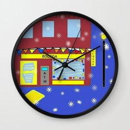 NYC nightlife Wall Clock