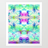 psych Art Prints featuring 'Plant Psych' by Hannah Stouffer