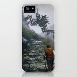 1920 - Sunday ride iPhone Case