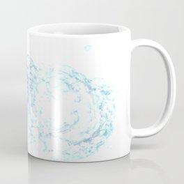 Ninja Stealthily Disappears into Bubble Bath Coffee Mug
