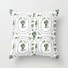 St Patrick's Prayer Throw Pillow