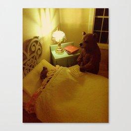 Goodnight, Little Bear Canvas Print