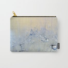 ice blue dandelion Carry-All Pouch