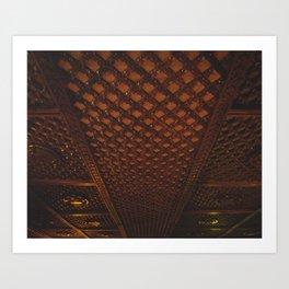 Kathmandu City - Architecture 03 Art Print