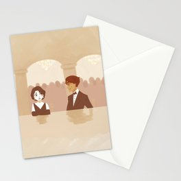 first meeting Stationery Cards