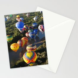 Floating over Rio Grand Stationery Cards