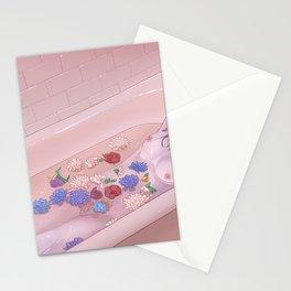 Flower Bath 9 Stationery Cards
