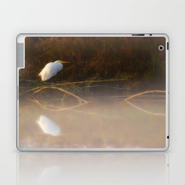 Fishing in the Morning Laptop & iPad Skin