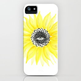 The Sunflower Eye iPhone Case
