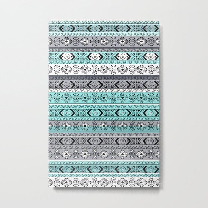 Indian Pattern I Metal Print