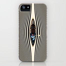 Illusionary Canoe Ride iPhone Case