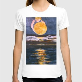 Moon Maiden's Light T-shirt
