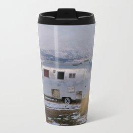 let's go anywhere Travel Mug