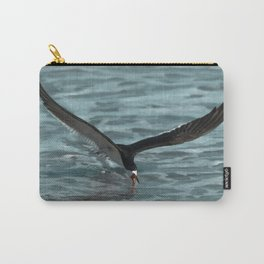 Hungry Black Skimmer Ocean Bird Carry-All Pouch