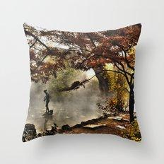 Steamy days Throw Pillow