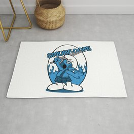 Brave Smurf Rug