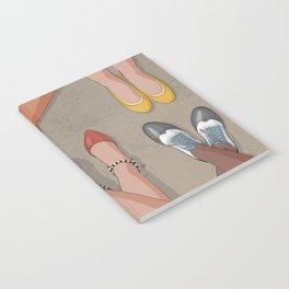 Feet movement under table Notebook