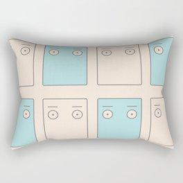 Larry Butz' shirt - Phoenix Wright Rectangular Pillow