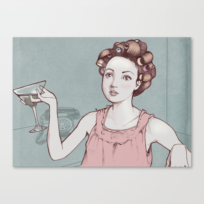 The Housewife  Canvas Print