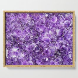 Amethyst Serving Tray
