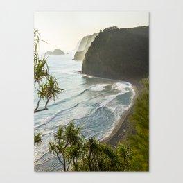 Polulu Valley - Big Island, Hawaii Canvas Print