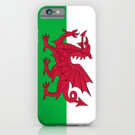 Flag of Wales - Welsh Flag iPhone Case