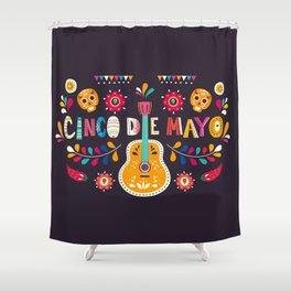 Cinco de Mayo – Guitar Shower Curtain