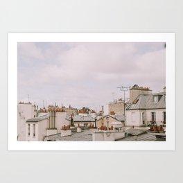 Over Le Marais Art Print