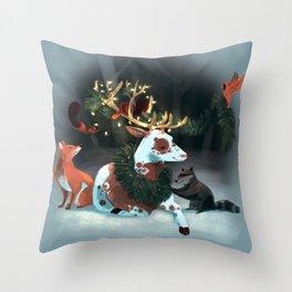 Holiday Spirit Throw Pillow