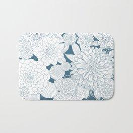 Blue Sketchbook Bath Mat