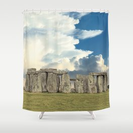 Stonehenge VI Shower Curtain