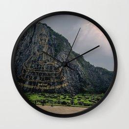 Khao Cheejan Mountain Wall Clock