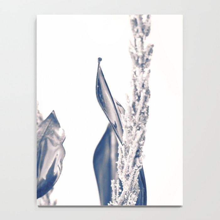 Glass rose Notebook