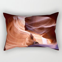 Nature's Abstract Rectangular Pillow