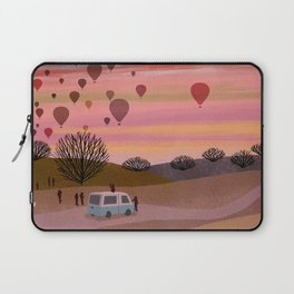 Hot Air Balloons in the Morning  Laptop Sleeve