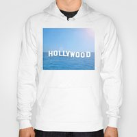 hollywood Hoodies featuring Sea Hollywood by Lord Solomon's Gallery