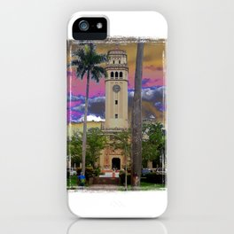 University of Puerto Rico - Main tower Rio Piedras iPhone Case