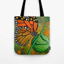 Monarch & Swan Plant Tote Bag