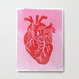 Heartbeat Metal Print
